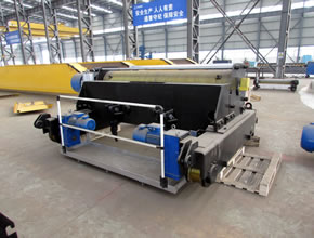 Electric winch for overhead crane and gantry crane